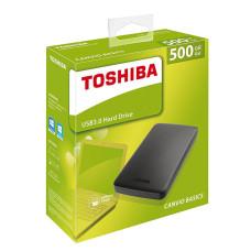 External HDD Toshiba CANVIO 500GB